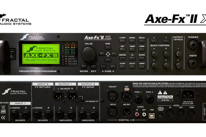 Fractal Audio Axe-Fx II Preamplifier USB Windows Vista 64-BIT
