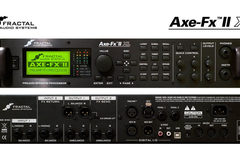 Renting out: Fractal Audio Axe Fx II XL+