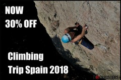 Service/Event: CLIMBING TRIP SPAIN (NOW 30% OFF)