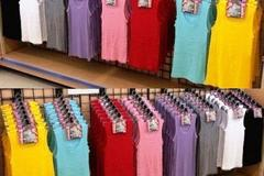 Venta: 72 LADIES RIBBED TANK TOPS ASSORTED COLORS AND SIZES