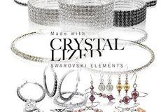 Buy Now: 25 Pieces - Swarovski Elements Crystal Fashion Jewelry