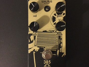 Renting out: Walrus Audio 385 Overdrive