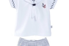 Products: Little Anchors Top & Shorts