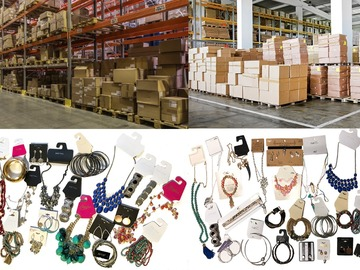 Sell:  Overstock Jewelry Lots  200 pieces