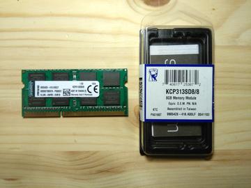 Selling: Kingston 8GB (1 x 8GB) DDR3 1333MHz SO-DIMM, CL9, 1.5V