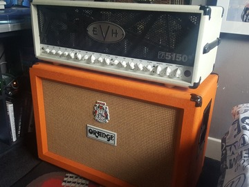 Renting out: Orange PPC212 Cab w/ V30's