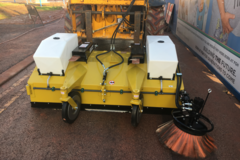 Daily Equipment Rental: Multi Sweep 425 Road Sweeper attachment