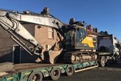 Daily Equipment Rental: Volvo EC220E Tracked Excavator