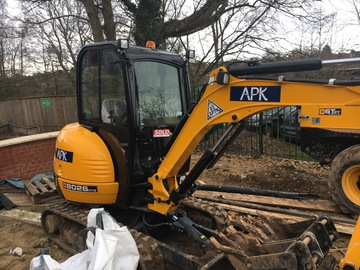 Daily Equipment Rental: JCB 8026CTS Excavator