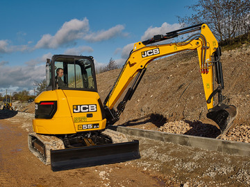 Daily Equipment Rental: JCB 55Z-1 5 Tonne  Excavator