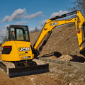 Daily Equipment Rental: JCB 55Z-1 5 Tonne  Excavator