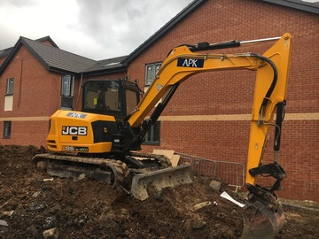 Daily Equipment Rental: JCB 86C-1 8 Tonne Excavator