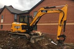 Daily Equipment Rental: JCB 86C-1 8 Tonne Excavator