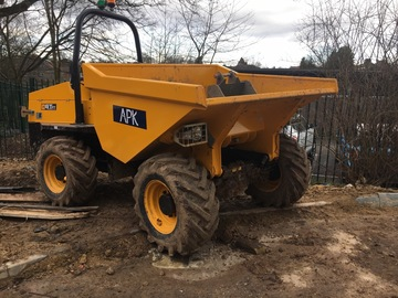Daily Equipment Rental: JCB 6 Tonne FT Dumper