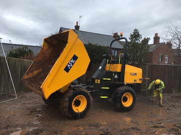 Daily Equipment Rental: JCB 9 Tonne FT Dumper