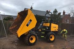 Daily Equipment Rental: JCB 9 Tonne FT Dumper