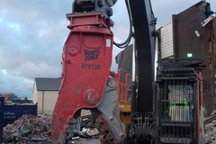 Daily Equipment Rental: Rammer RPV22R 22t-30t Rotating Pulveriser