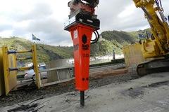 Daily Equipment Rental: Rammer BR1533 14t Hydraulic Breaker