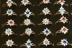 Sell: (144) New Cubic Zirconia Royal Design Fashion Rings