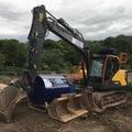 Daily Equipment Rental: Volvo EC140 EL 14Te Excavator | Prolec Lifting system