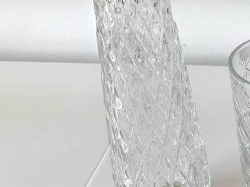 Ilmoitus: Maljakot 6kpl, korkeus 22 cm