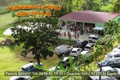Location par jour: Salle de réception en Martinique