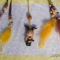 Vente au détail: Petit Attrape-rêves féerique figurine zodiaque capricorne ga