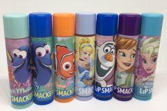 Sell: 2,016 Disney LIP SMACKER Balms Elsa Ana Olof Dory Nemo