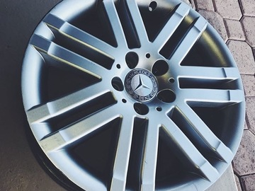 "Selling: 17"" Silver Mercedes Benz C350 OEM Alloy Wheels"