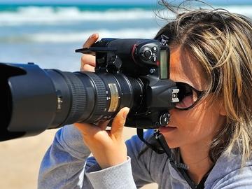 Das Angebot von Dienstleistungen: Test Professional Photographer Services.