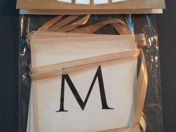 Ilmoitus: Mr&Mrs banneri