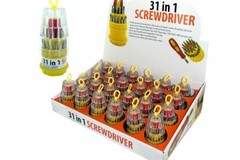 Sell: 31 in 1 Screwdriver Set Counter Top Display