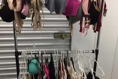 Sell: 25 pc Name Brand Womenswear Bras Cover Ups Pajamas Tops