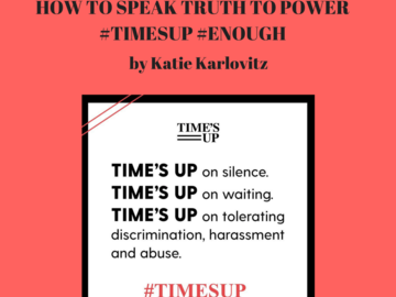 Freebies & Giveaways: Pop-Up Public Speaking Class-How to Speak Truth to Power #Ti