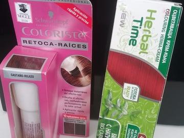 Venta: Tinte Herbal Time tono Morello + retocaraices castaño rojizo