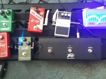 Renting out: Pedal board