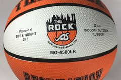 Sell: Qty 58 The Rock Indoor/Outdoor Basketball MG-4300LR