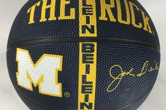 Sell: Qty 23 The Rock Basketball Michigan Wolverines MG-4300-RF