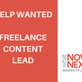 Help Needed: Freelance Content Lead