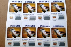 Sell: (20) Samsung 128GB EVO Class 10 Micro SDXC with Adapter