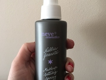 Venta: Setting spray- neve cosmetics