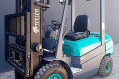 En alquiler: Autoelevador marca Feeler 2.5 Ton. LPG