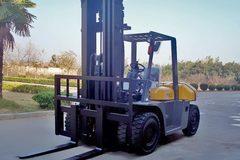 En alquiler: Autoelevador marca Landmarck 5 Ton. Diesel