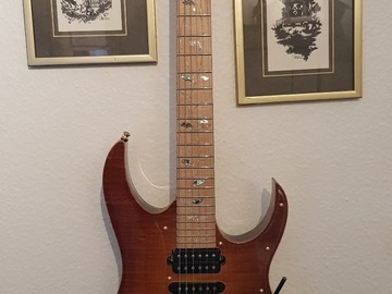 Renting out: Ibanez j custom 8550 mz