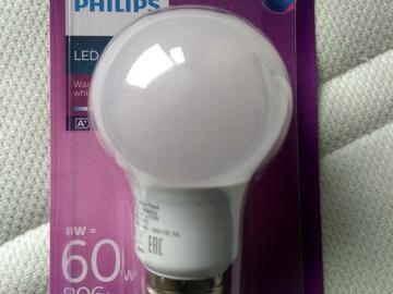 Myydään: PHILIPS LED Bulbs X 3