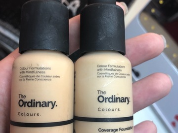 Venta: 2 bases the ordinary: serum y foundation