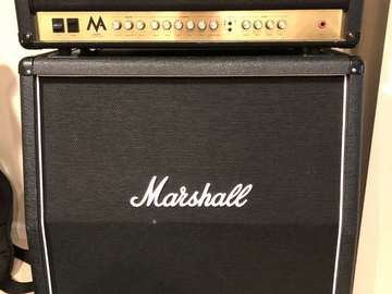 Renting out: Marshall 50 watt tube half stack
