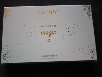 Venta: Colourpop paleta All I see is magic (EL)