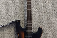 Renting out: Squier Affinity Strat w/ custom upgrades