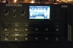 Renting out: Headrush Multi-Effects processor/pedalboard